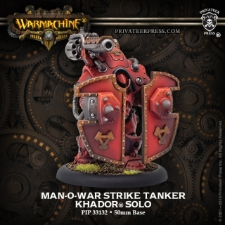 Warmachine: Khador (33132): MAN-O-WAR STRIKE TANKER SOLO