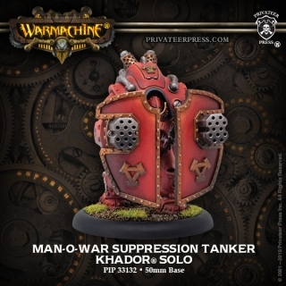 Warmachine: Khador (33131): Man-O-War Suppression Tanker Solo
