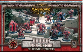 Warmachine: Khador (33135): Man-O-War Theme Force Box