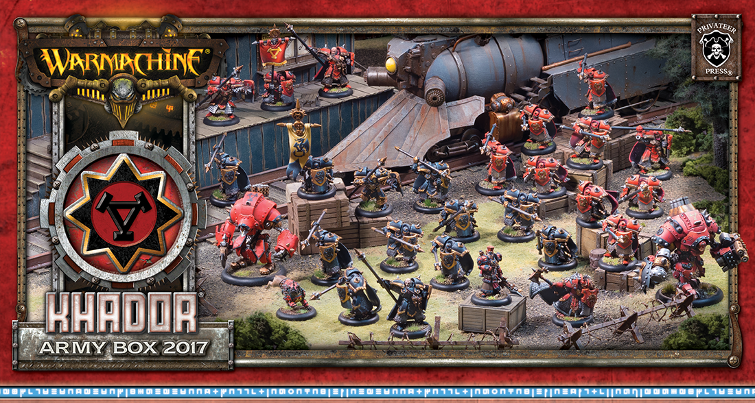 Warmachine: Khador (33991): Army Box 2017