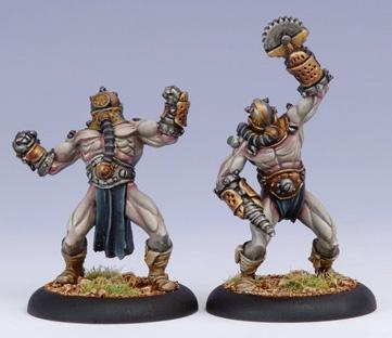 Warmachine: Cryx (42006): Cephalyx Slaver & Drudge Mind Slave Allies [SALE]
