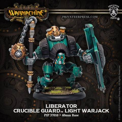 Warmachine: Golden Crucible (37010): Liberator Light Warjack