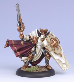 Warmachine: Menoth (32048): Paladin Of The Order Of The Wall (Alternate Version)