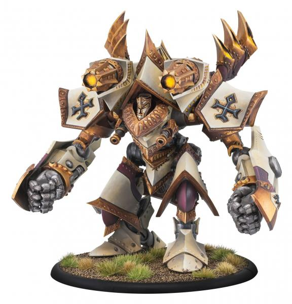 Warmachine: Menoth (32108): Judicator/Revelator Colossal Kit