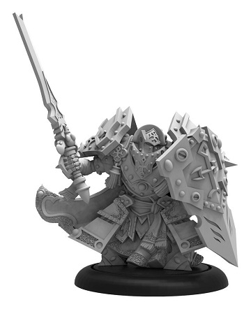Warmachine: Menoth (32129): Exemplar Cinerator Officer