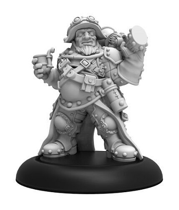 Warmachine: Mercenaries (41156): Steelhead Gunner Solo