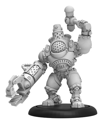 Warmachine: Mercenaries (41158): Steelhead Ironhead - Solo
