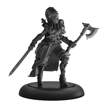 Warmachine: Mercenaries (41159): Captain Rahera Terror of the Wailing Sea Warcaster