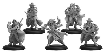 Warmachine: Mercenaries (41166): Order of Illumination of Vigilants Morrowan