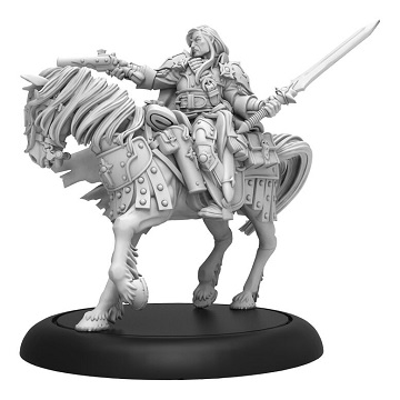 Warmachine: Mercenaries (41167): Grand Master Gabriel Throne Morrowan