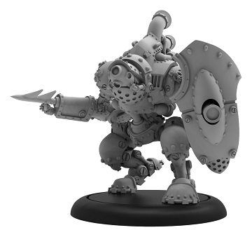 Warmachine: Mercenaries (41993): Swabber Privateer - Heavy Warjack