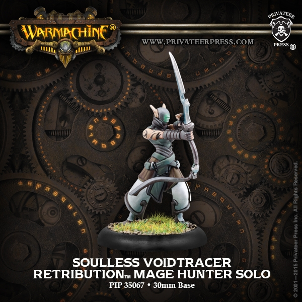 Warmachine: Retribution Of Scyrah (35067): Soulless Voidtracers