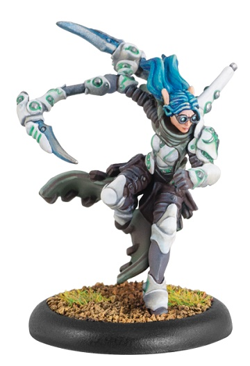 Warmachine: Retribution Of Scyrah (35076): Elara, Death's Shadow