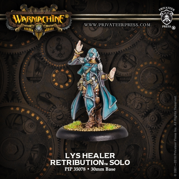 Warmachine: Retribution Of Scyrah (35078): Lys Healer