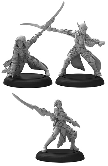 Warmachine: Retribution Of Scyrah (35082): Spears of Scyrah