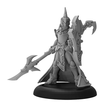 Warmachine: Retribution Of Scyrah (35084): Fane Knight Guardian