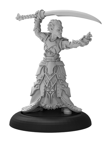 Warmachine: Retribution Of Scyrah (35085): Priest of Nyssor