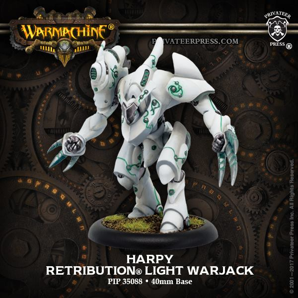 Warmachine: Retribution Of Scyrah (35088): Harpy Light Warjack