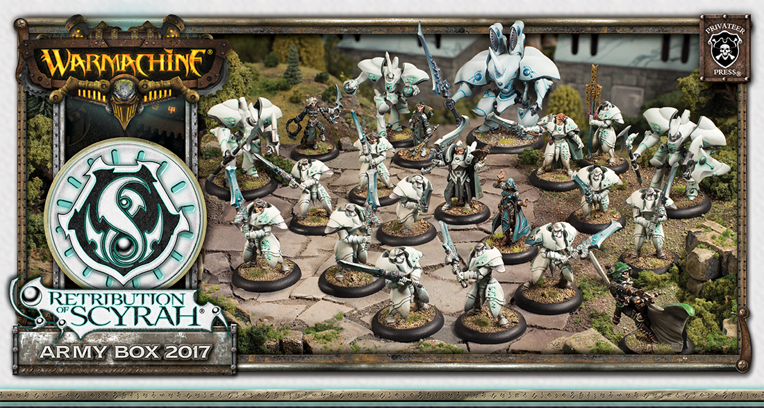 Warmachine: Retribution Of Scyrah (35991): Army Box 2017 [BUNDLE DEAL]