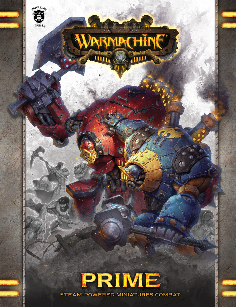 Warmachine: Prime MkIII (HC) [Damaged]