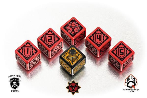 Warmachine: Dice: Khador