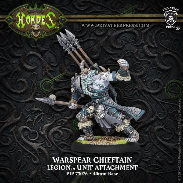 Hordes: Legion of Everblight (73076): Warspear Chieftain