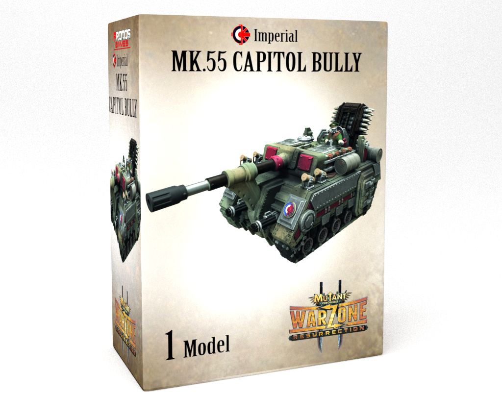 Warzone Resurrection: Imperial: MK.55 Capitol Bully