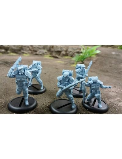 Warzone Resurrection: Imperial Support: Blood Berets Close Combat Add-on