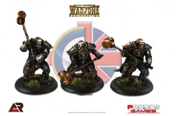 Warzone Resurrection: Imperial: Wolfbane Warhounds