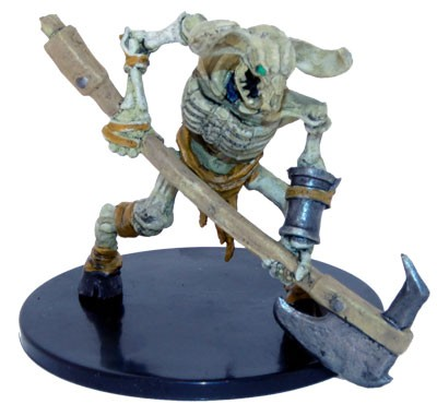 Waterdeep Dungeon of the Mad Mage: #032a Minotaur Skeleton (Great Axe) (U)