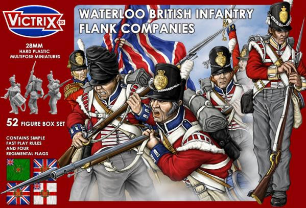 Victrix 28mm: Waterloo British Infantry Flank Companies