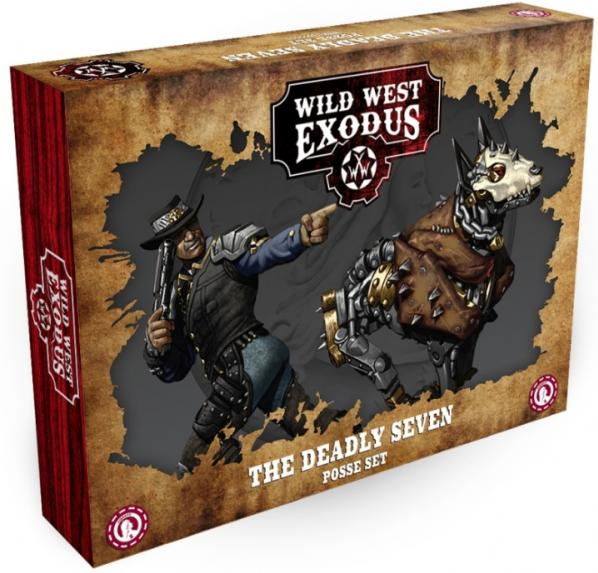 Wild West Exodus Outlaw: The Deadly Seven Posse Set