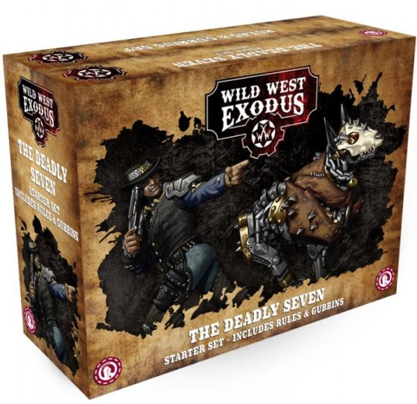 Wild West Exodus Outlaw: The Deadly Seven Starter Set