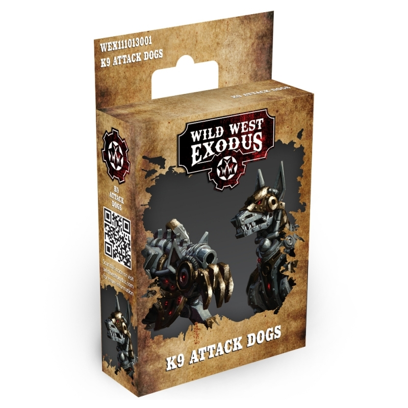 Wild West Exodus The Hex: K9 ATTACK DOGS