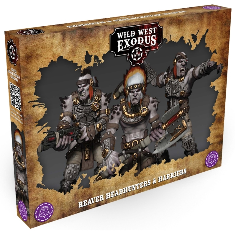 Wild West Exodus The Hex: REAVER HEADHUNTERS AND HARRIERS