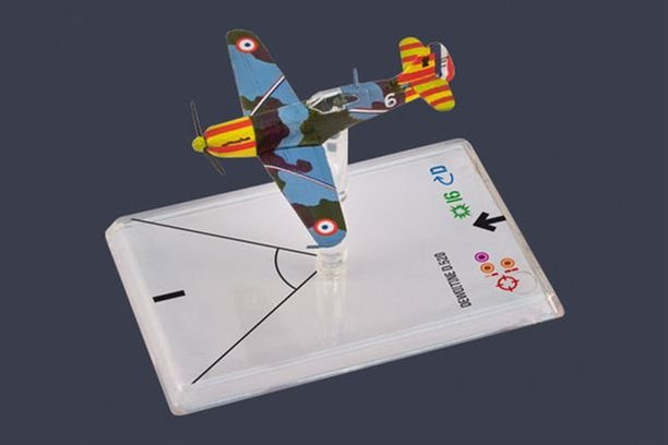 Wings of War: DEWOITINE D.520 (Le Gloan) [SALE]