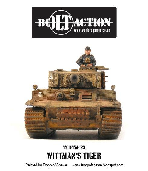 Bolt Action: German: Wittmans Tiger