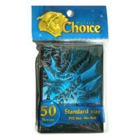 Wiz Choice Sleeves: Blue Dragon