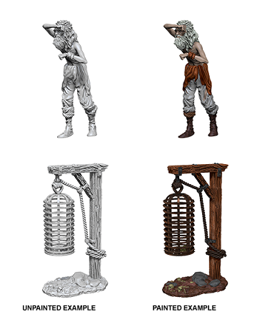 WizKids Deep Cuts: Hanging Cage