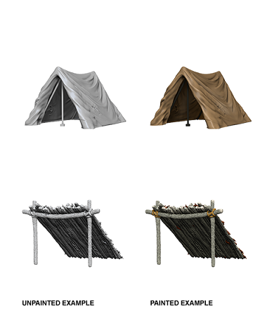 WizKids Deep Cuts: Tent and Lean-To