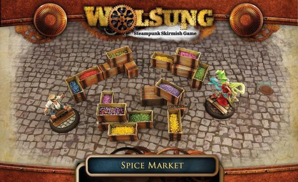 Micro Art Studio - Wolsung: Fantasy Terrain: Spice Market