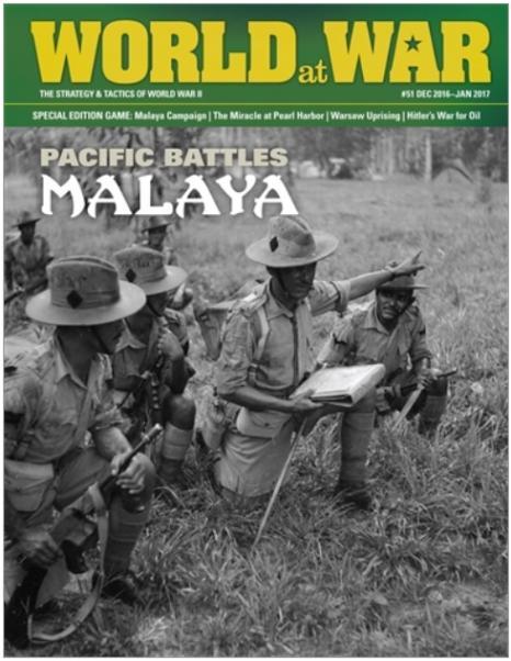 Decision Games - World at War Magazine #051: Malaya (Pacific