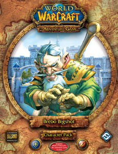 World of Warcraft Adventure Card: Brebo Bigshot Character Pack [SALE]