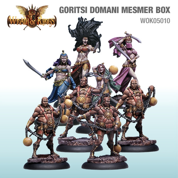 Wrath of Kings House of Goritsi: Domani Mesmer Box