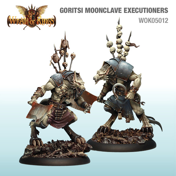 Wrath of Kings House of Goritsi: Moonclave Executioners