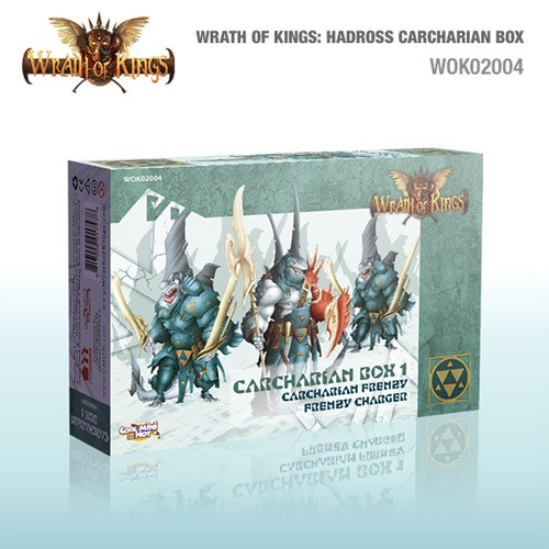 Wrath of Kings House of Hadross: Carcharian Box 1 [SALE]