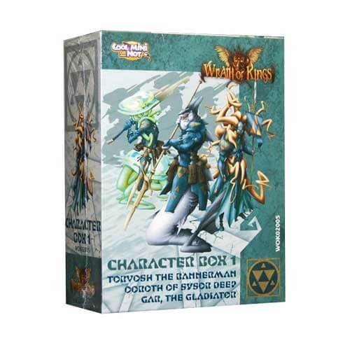 Wrath of Kings House of Hadross: Character Box 1 [SALE]