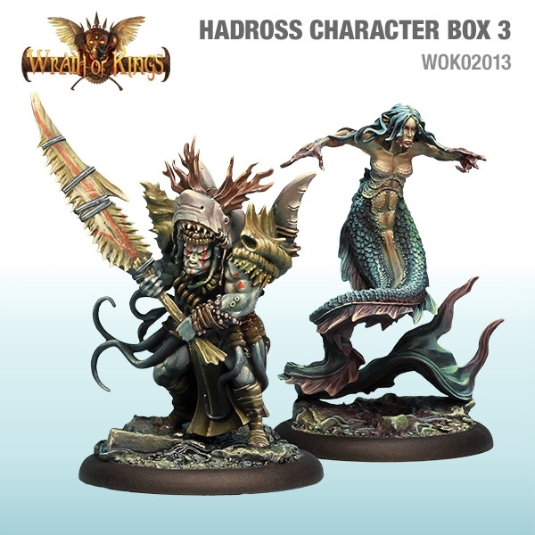 Wrath of Kings House of Hadross: Character Box 3