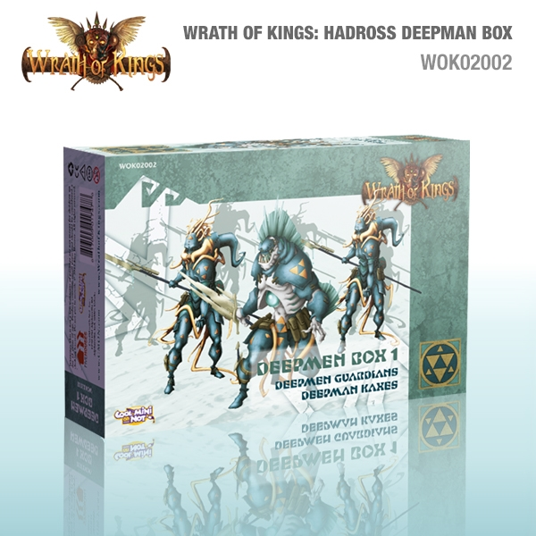 Wrath of Kings House of Hadross: Deepman Box [SALE]