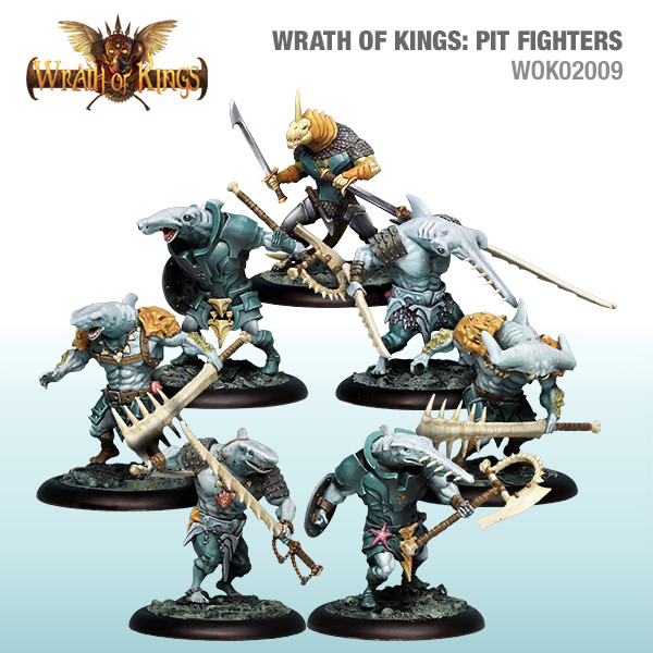 Wrath of Kings House of Hadross: Pit Fighters [SALE]